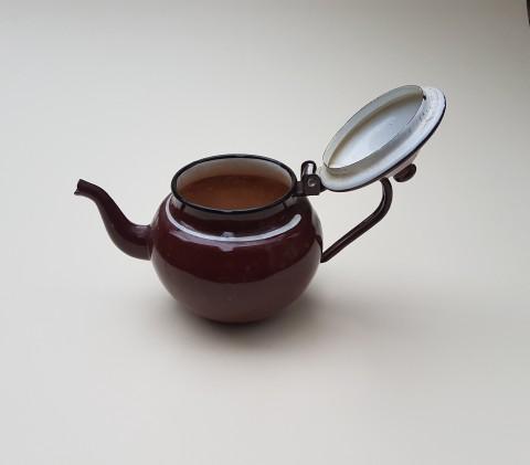 Kahverengi Çinko Demlik 0,70 Lt Beg_2644