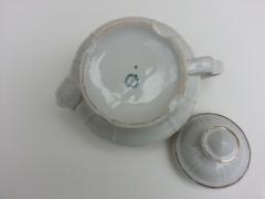 Beg_0738_istanbul Porselen Yaldız Çiçekli Demlik
