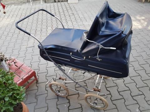 1950 Lerden Orjinal İsviçre Bebek Arabası Beg_1877