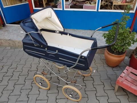 Beg_1877_1950 Lerden Orjinal İsviçre Bebek Arabası
