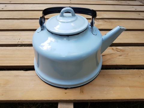 Beg_2348_rus Malı Açık Mavi Çinko Çaydanlık
