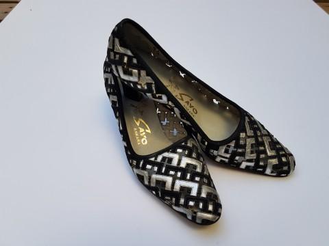 Eski Sayo Firmasından El Yapımı 37 Numara Şık Bayan Ayakkabısı Beg_2377