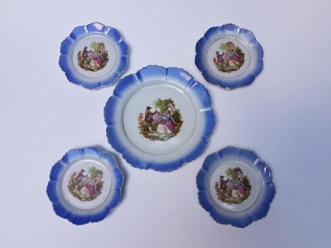 Porcelain Fine Marka 1+4 Parça Pasta Takımı Beg_2437